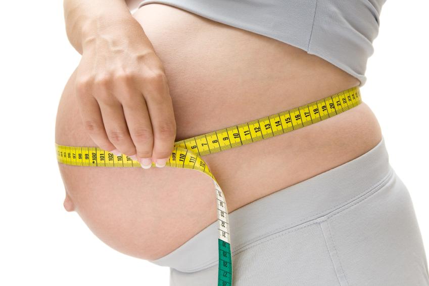 Perder peso durante a gravidez? Nem pensar!